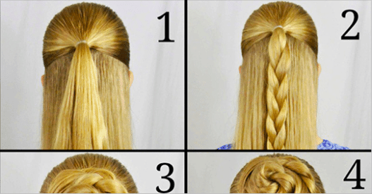 10 Beautiful and easy braided hairstyles that can be made in just a ...
