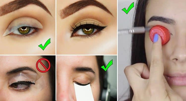 7 Useful Eye Makeup Hacks For Beginners Trend Crown