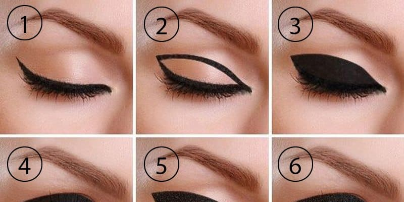 Master The Art Of Drawing Thick Cat Eye Eyeliner Trend Crown