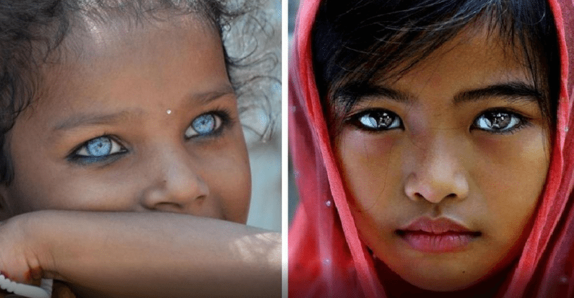 These people with the most beautiful eyes in the world ...
