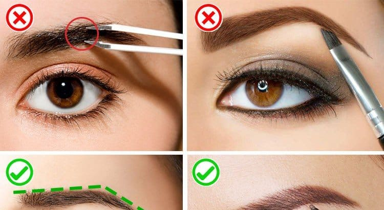 5 Eyebrow Raising Mistakes That You Make With Your Brows