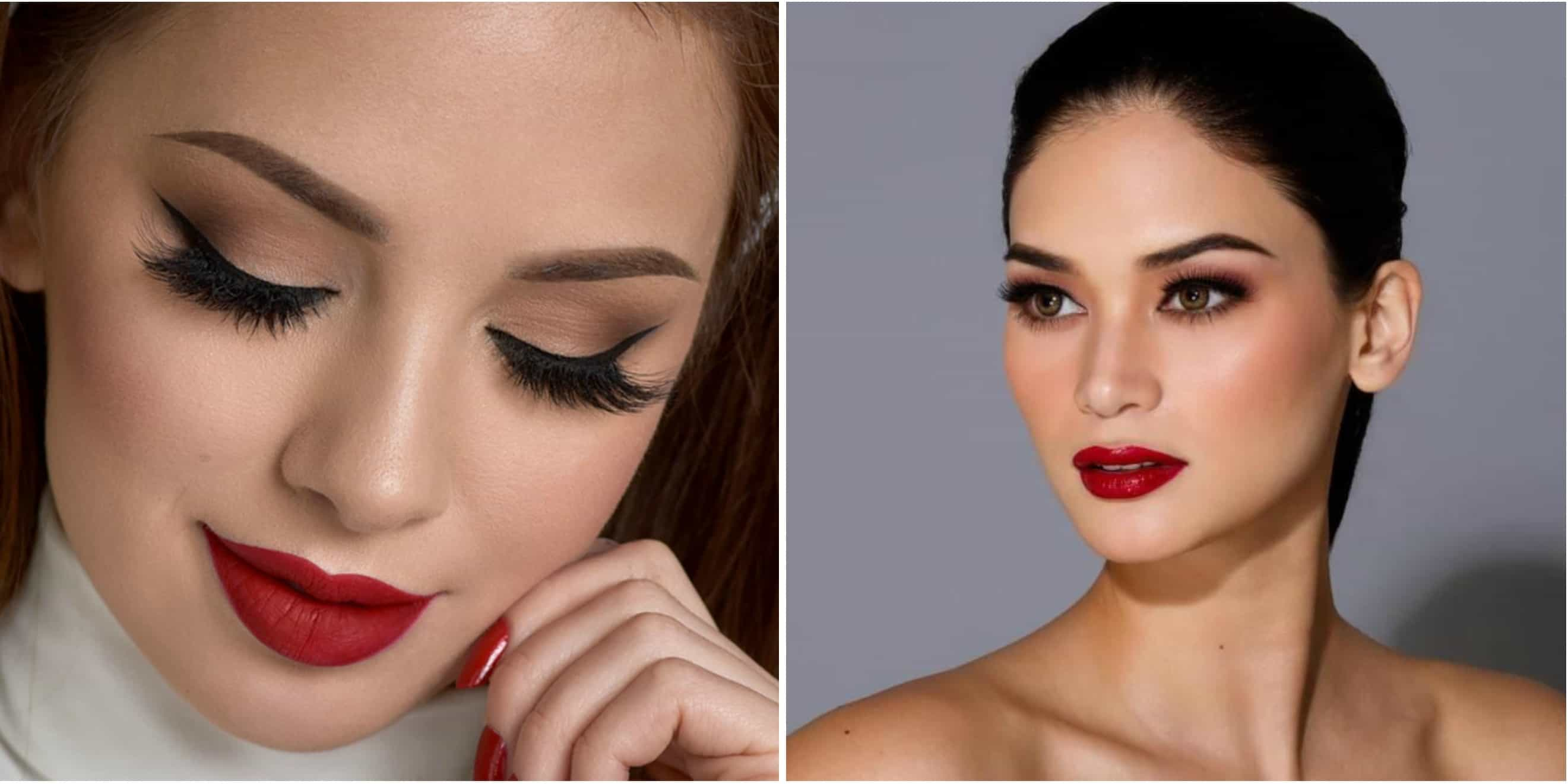 10 Mesmerizing Eye Makeup Looks To Go With Red Pout Trend Crown