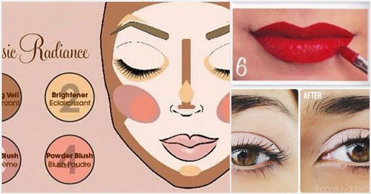 11 Beauty charts that will teach you how to do your makeup correctly.
