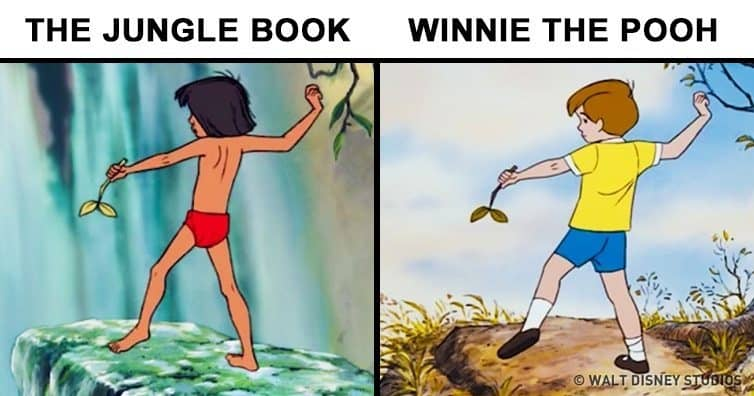 12 Famous Animated Movies Illustrations Which Are Copied Trend Crown