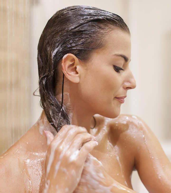 The Correct Way To Wash Your Hair With Shampoo