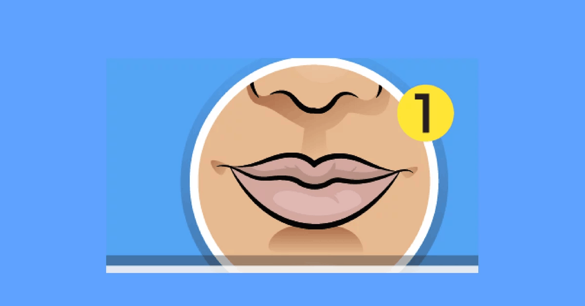 what does your lip shape say about your personality