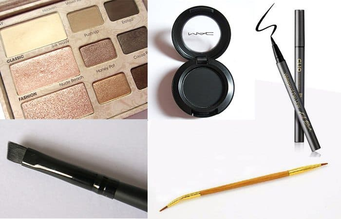 Step By Step Winged Eyeliner Tutorial.