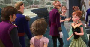 Disney Princess Link Theory