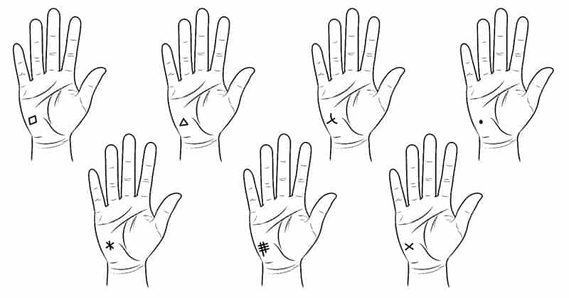 Check Out The Special Symbols On The Palm Reveals About The
