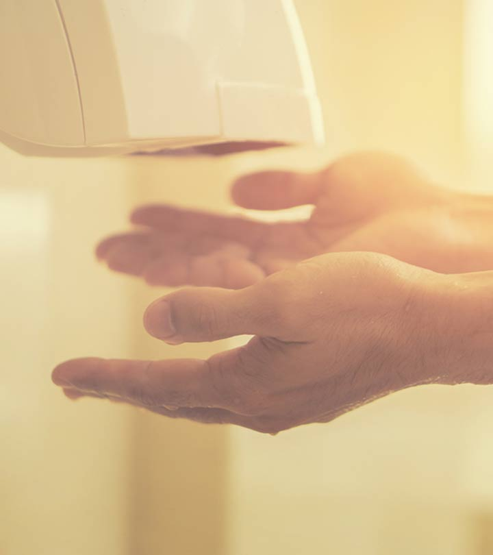Reason you should never use hand-dryers in public washroom