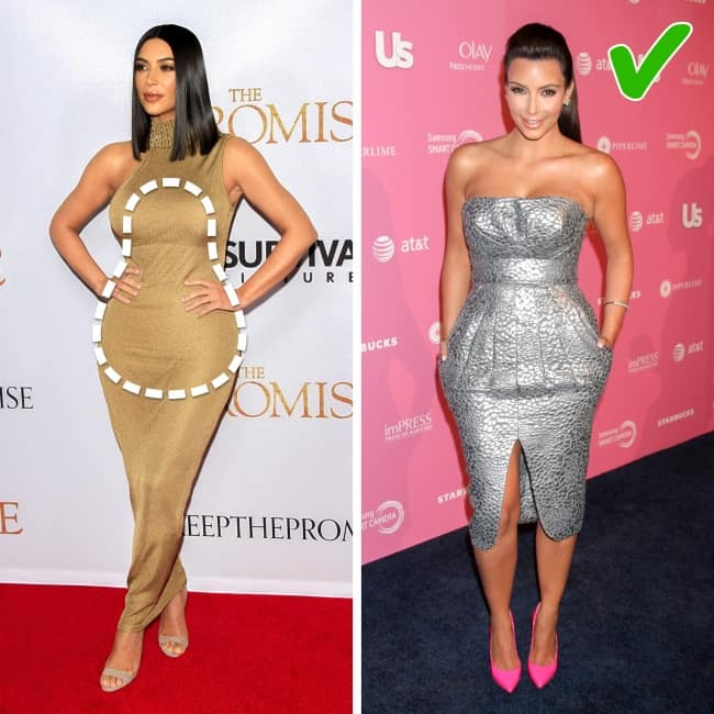 Dress according to your body shape