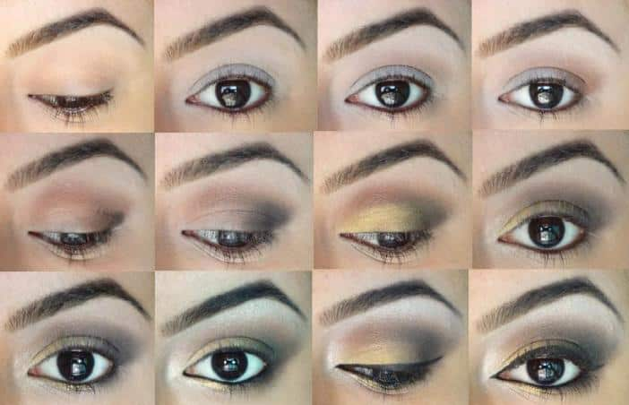 Eyes are the most beautiful part of the entire human body. And, you can make them look even more beautiful with the golden smokey eye makeup tutorial.