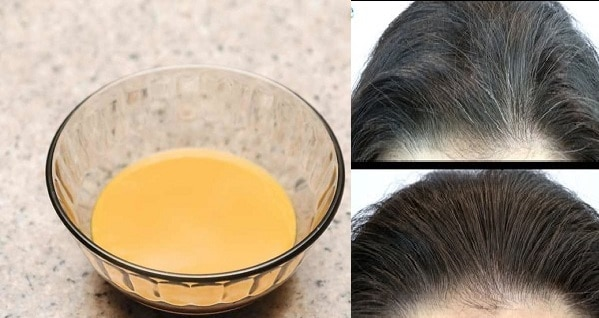 Natural Home Remedy To Turn Grey Hair Into Its Natural