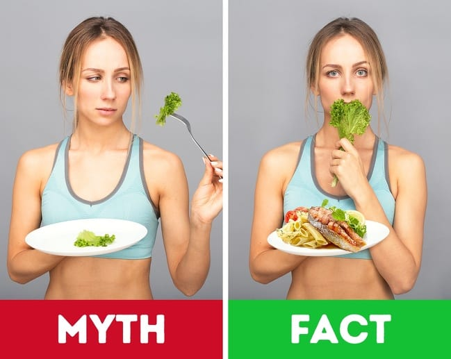 Eating Myths That We Should Not Believe That is Shown On The Facebook
