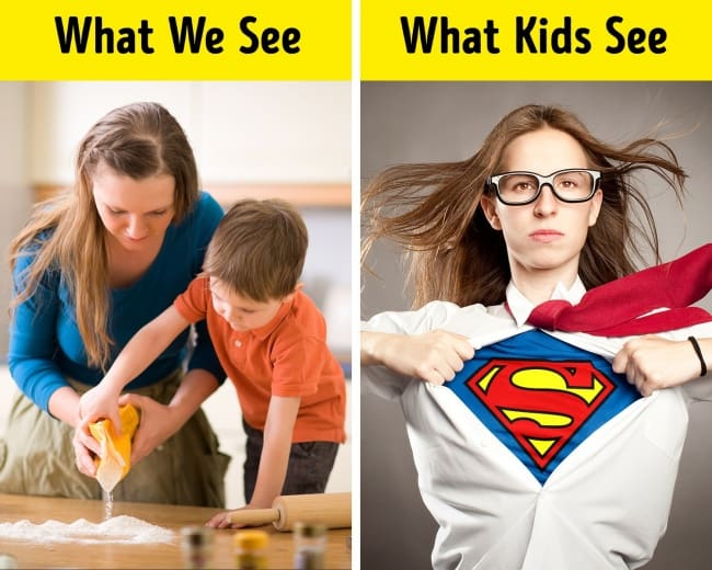 Some Instances Of What We See vs What Kids See