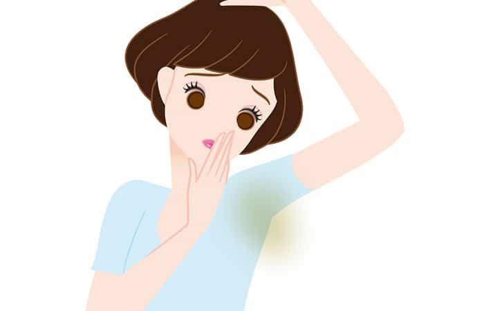 Get rid of underarm odor