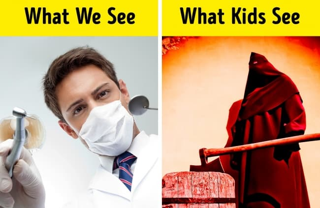 Some Instances Of What We See v/s What Kids See