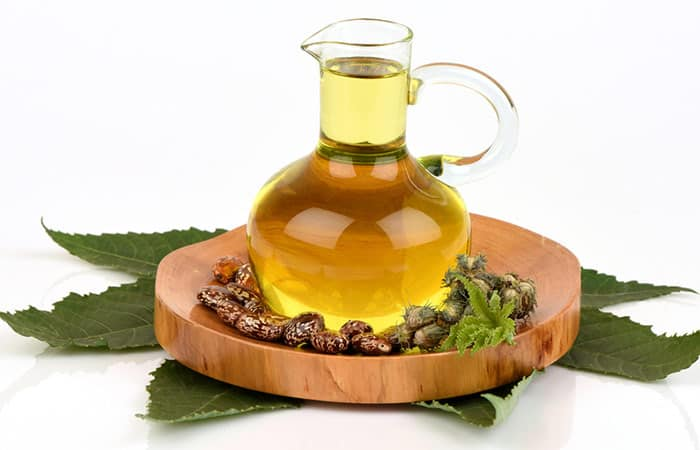 castor oil for thick hair